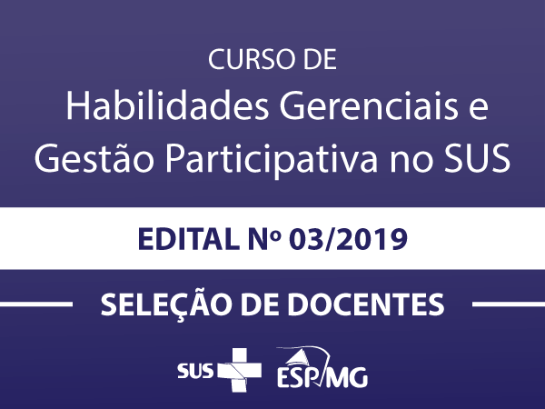 Credenciamento ESP-MG 003-2019