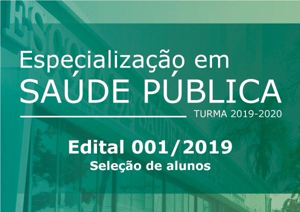 Edital Seleção SP 0001-2019