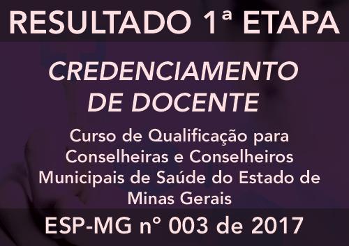 Credenciamento 003/2017