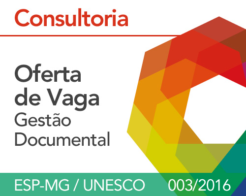 Termo de Referência ESP-MG / UNESCO - 003/2016